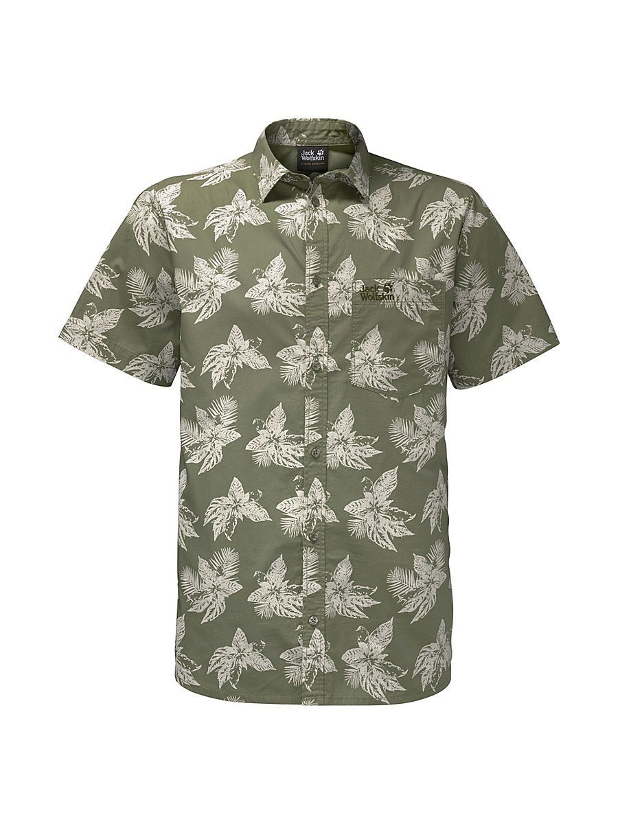 Рубашки Jack Wolfskin Рубашка HOT CHILI TROPICAL SHIRT рубашка jack wolfskin jack wolfskin ja021ewpdq64