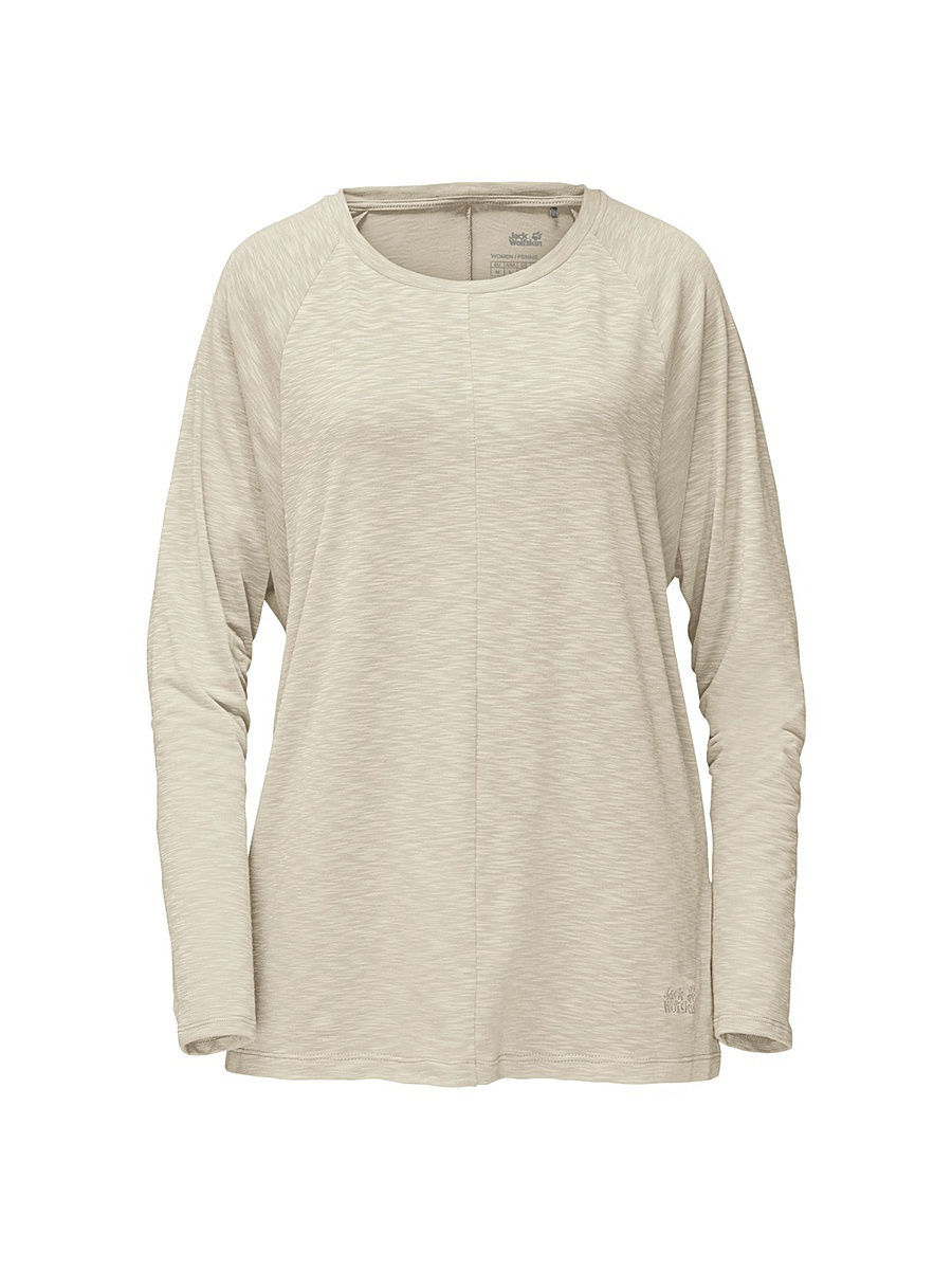 Лонгслив Jack Wolfskin Лонгслив TRAVEL LONGSLEEVE T WOMEN снуд jack wolfskin jack wolfskin ja021guwha98