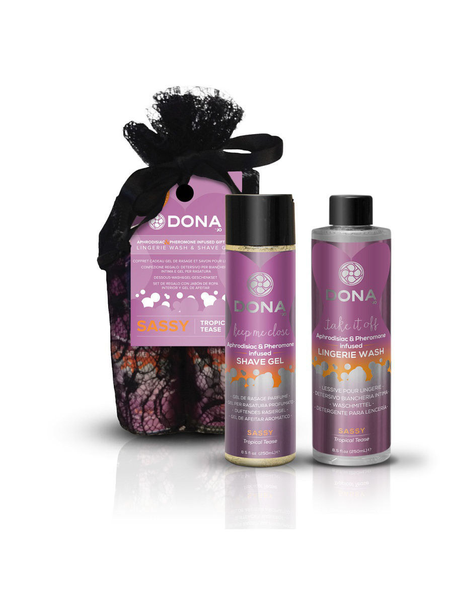 SYSTEM JO Подарочный набор DONA Be Sexy Gift Set - Sassy ideal standard унитаз подвесной ideal standard simply u j452101