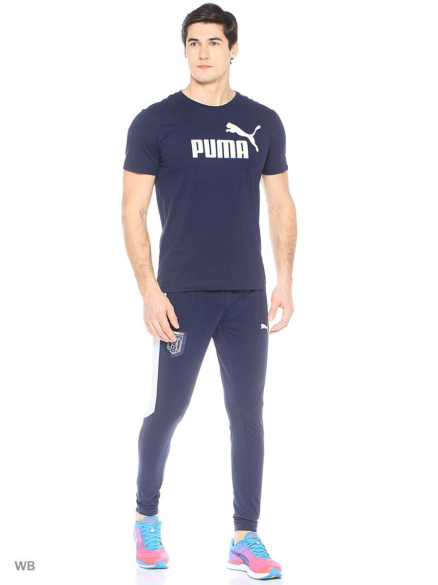 Брюки PUMA Брюки FIGC Stadium Pant tapered брюки puma брюки alife arc track pant