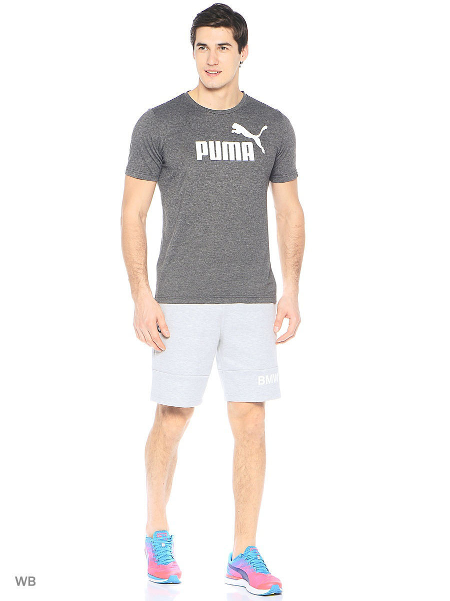Шорты Puma Шорты BMW MSP Sweat Shorts майка puma bmw motorsport