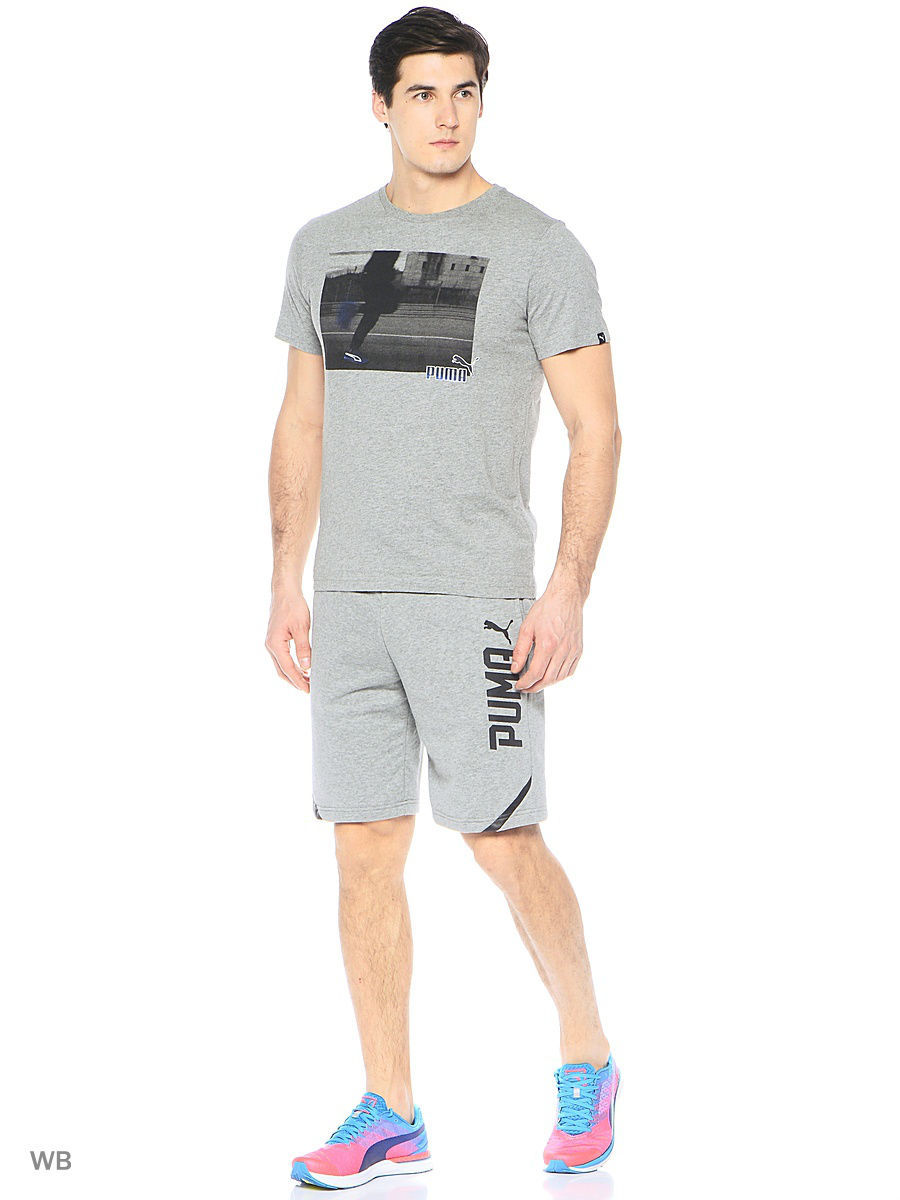 Шорты PUMA Шорты STYLE Tec Shorts TR 10' шорты power rebel sweat shorts 10 puma