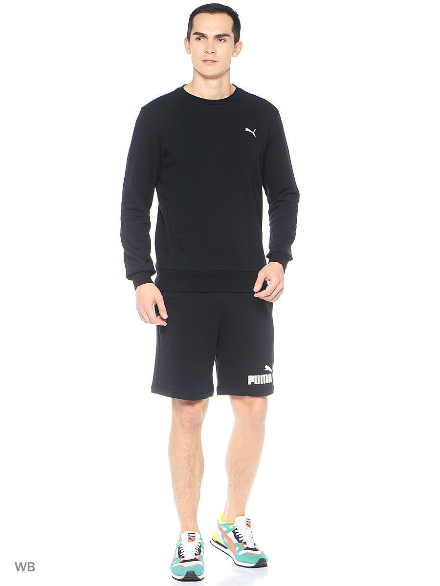 Шорты Puma Шорты ESS No1 Sweat Shorts 9' шорты power rebel sweat shorts 10 puma