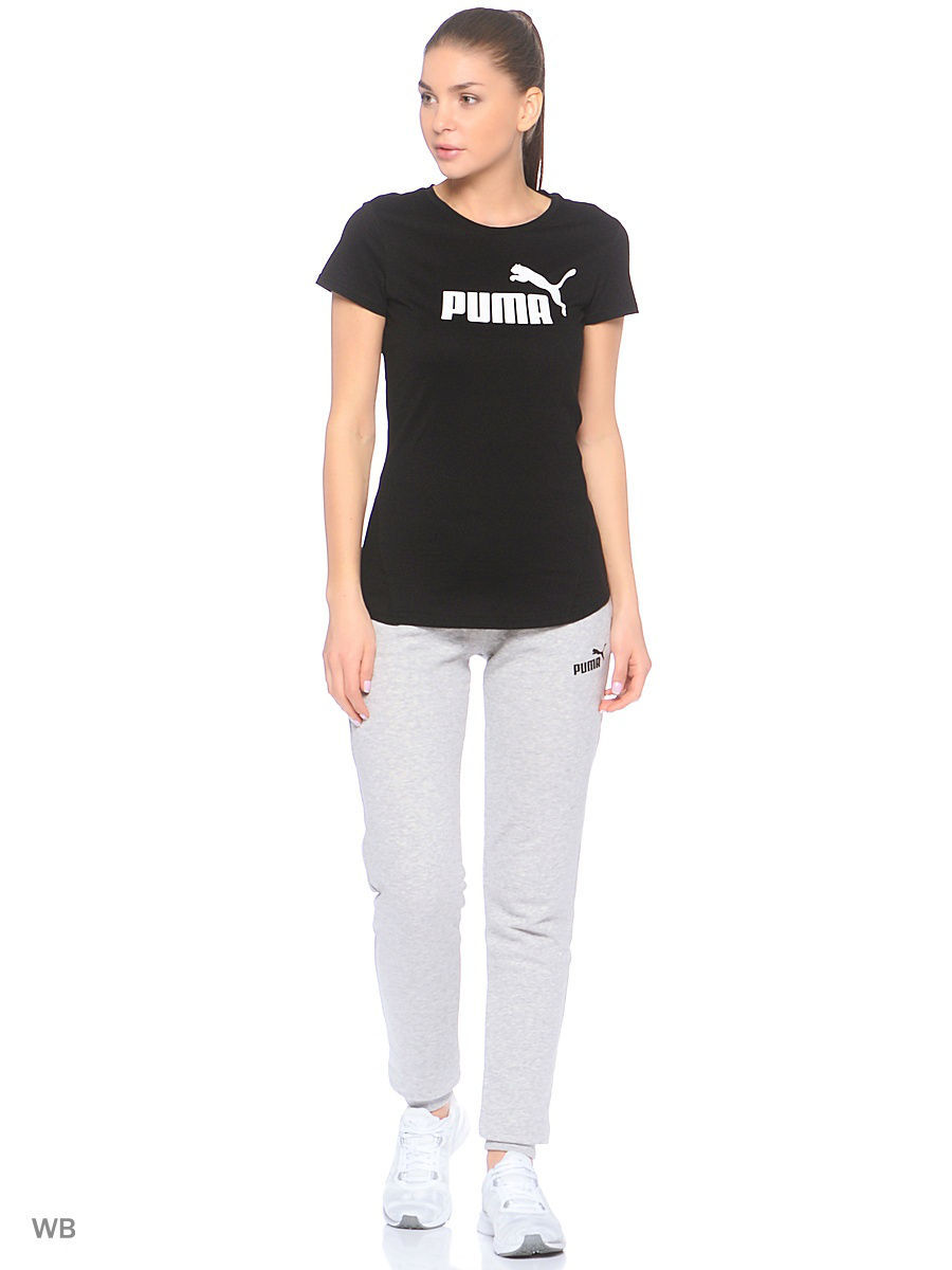 Футболка PUMA Футболка ESS No.1 Tee W футболка no have rice about you tee