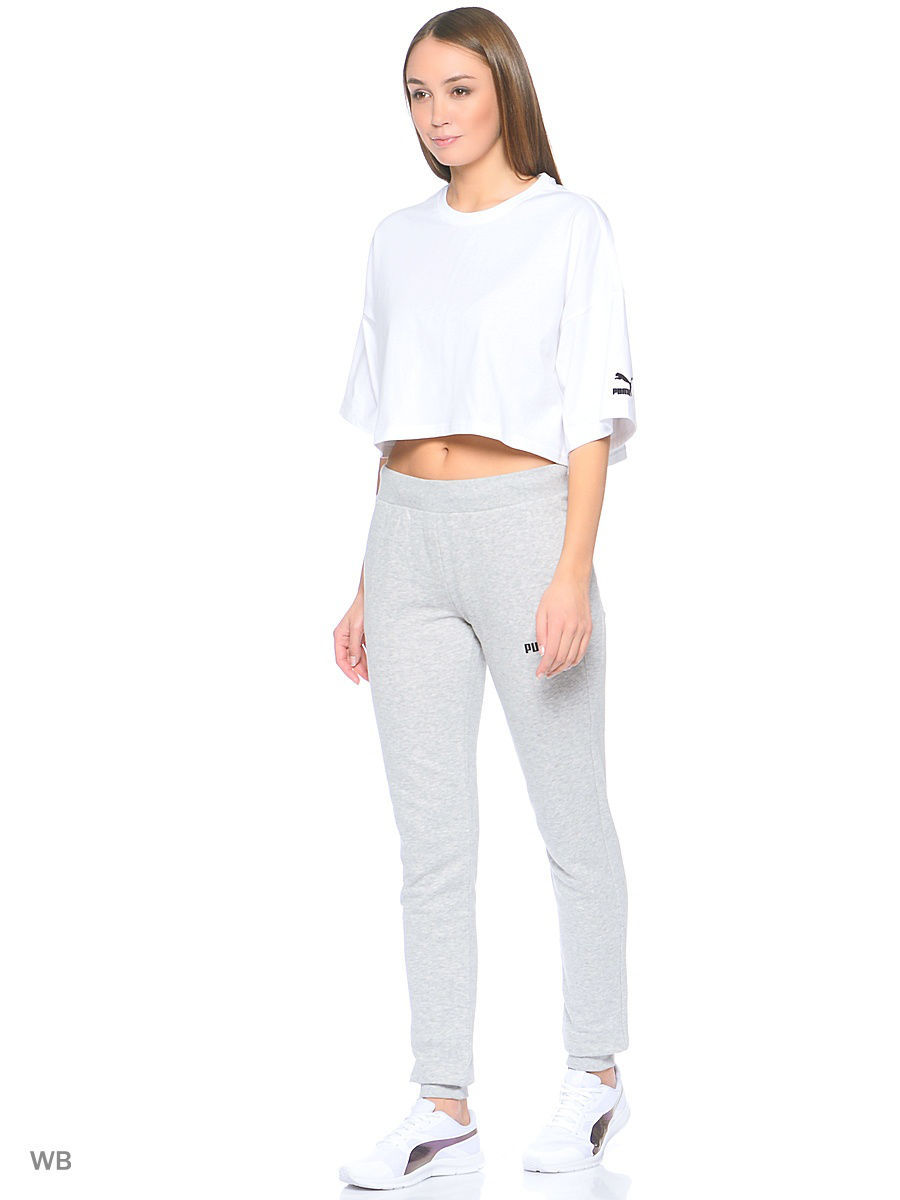 цена  Брюки Puma Брюки ESS No.1 Sweat Pants TR W  онлайн в 2017 году
