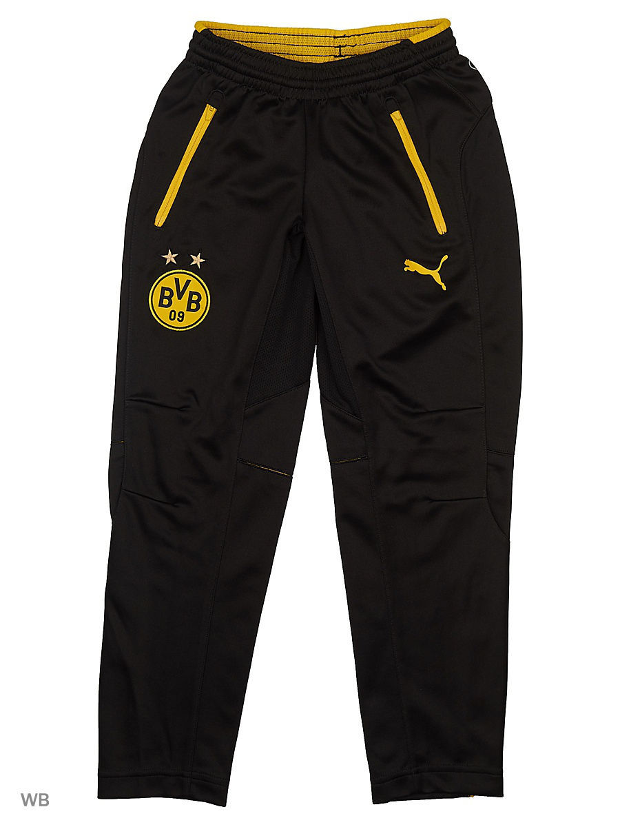 Брюки PUMA Брюки BVB Tr. Pants with pockets напульсники puma напульсник puma tr wristbands