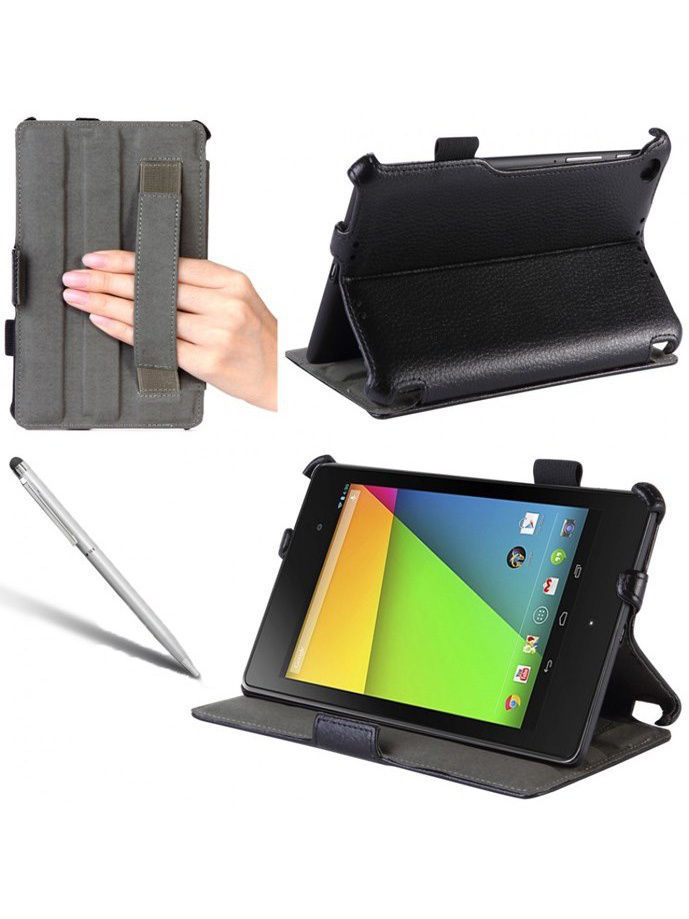 Обложка skinBOX standard with hand holder для планшета Asus Nexus 7 /Goole Nexus 7 2го поколения.