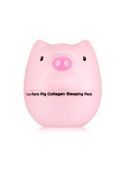 Косметические маски Tony Moly Ночная маска для лица (коллаген) PIG COLLAGEN , 80г нolika holika ночная маска для лица pig collagen jelly pack 80 г