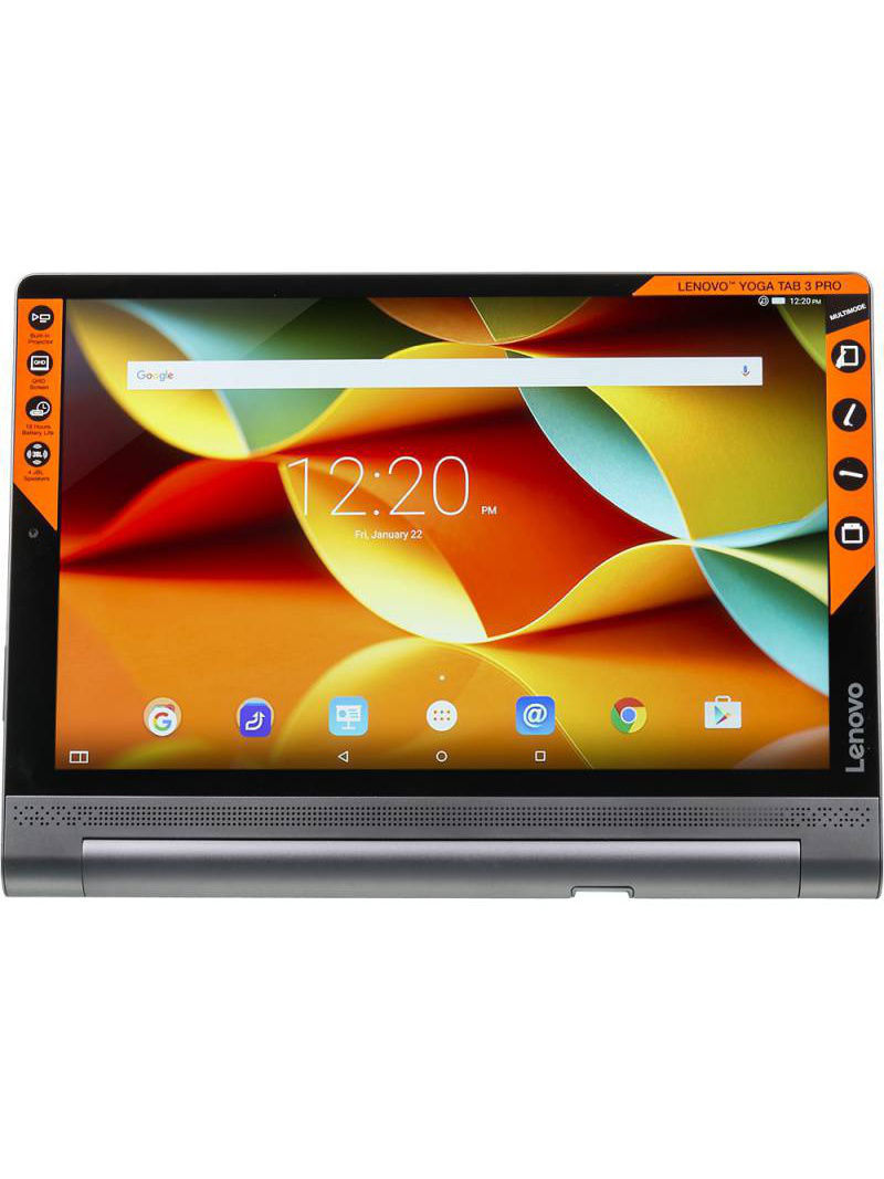 Планшеты lenovo Планшет LENOVO Yoga Tablet 3 Pro YT3-X90L, 2GB, 32GB, 3G, 4G, Android 5.1 черный
