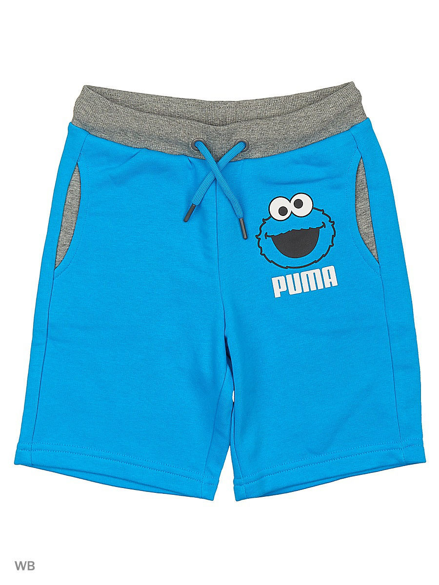 Шорты PUMA Шорты Sesame Street Sweat Bermuda шорты power rebel sweat shorts 10 puma
