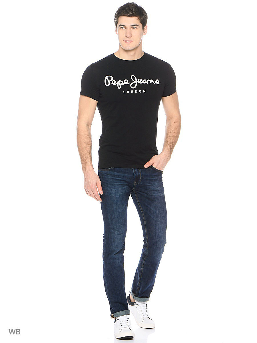 Футболка Pepe Jeans London PM501594/999BLACK