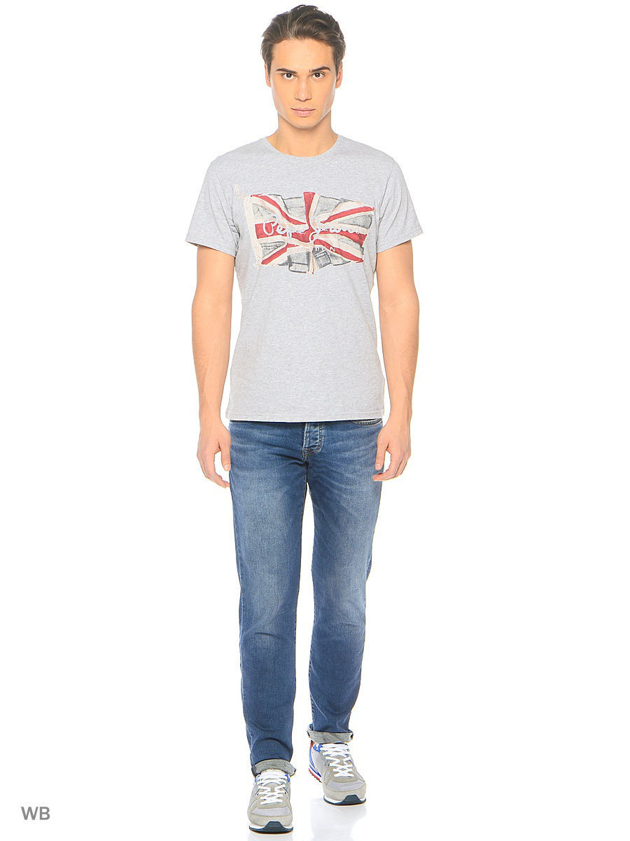 Футболка PEPE JEANS LONDON PM501854/933GREYMARL