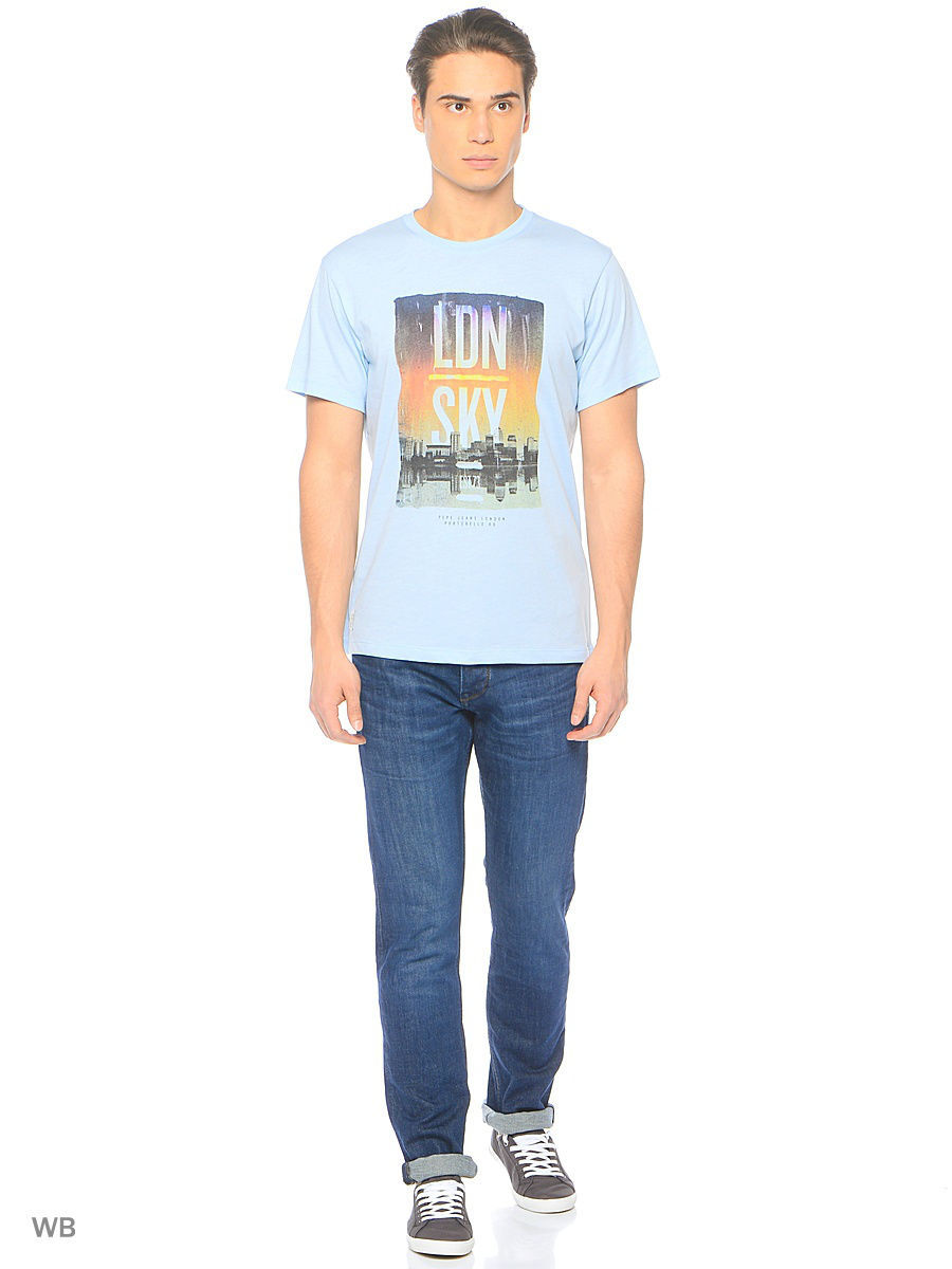 Футболка Pepe Jeans London PM503557/521REGENTBLUE