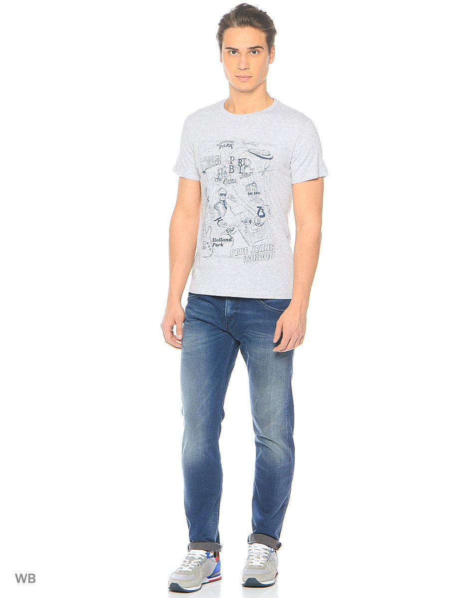 Футболка Pepe Jeans London PM503571/913LTGREYMARL