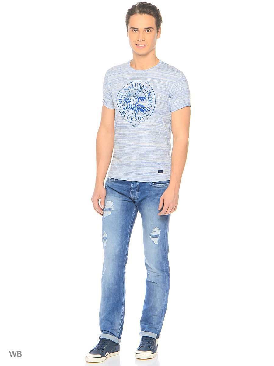 Футболка Pepe Jeans London PM503576/803OFFWHITE