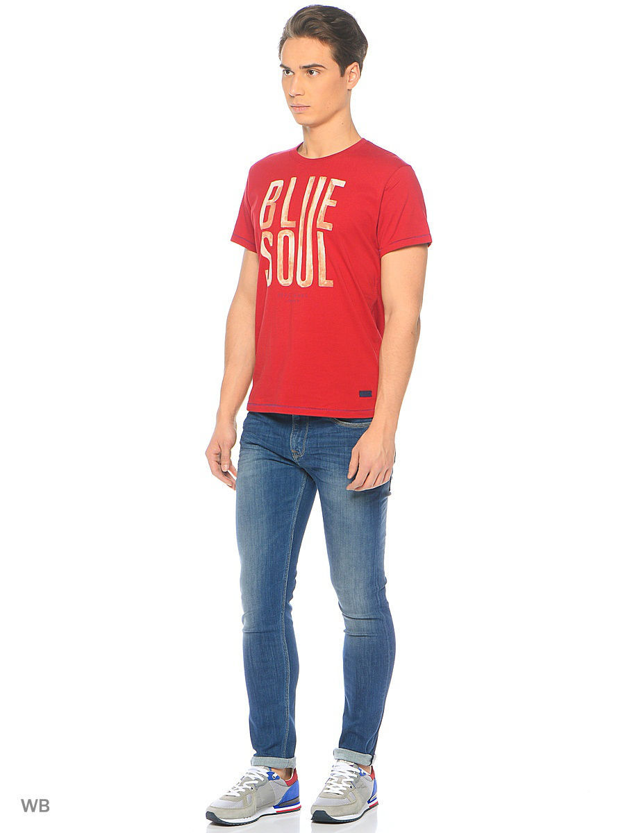 Футболка Pepe Jeans London PM503588/286BURNTRED