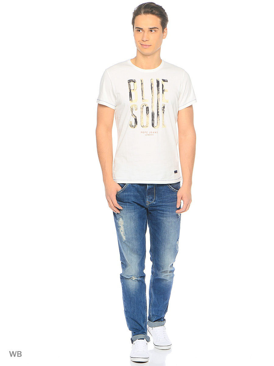 Футболка Pepe Jeans London PM503588/803OFFWHITE