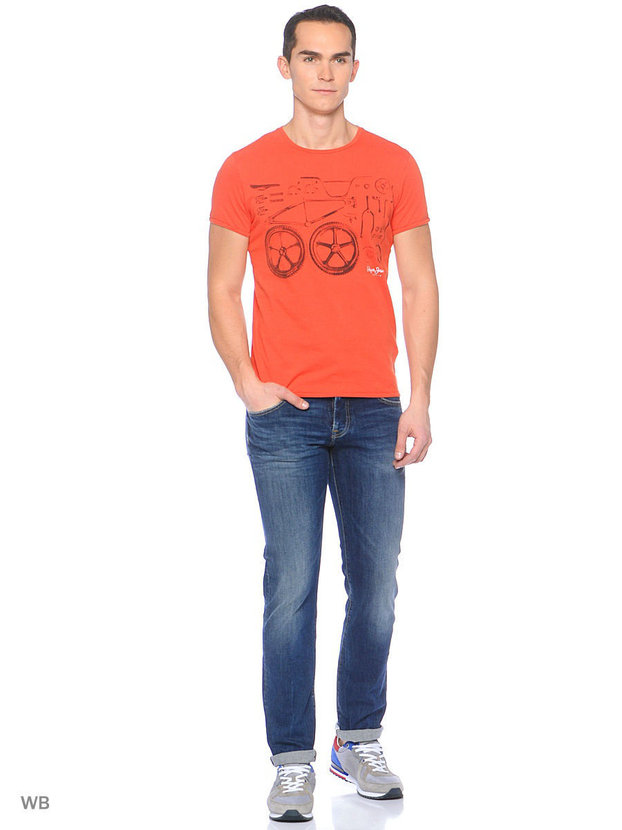 Футболка Pepe Jeans London PM503619/244MARSRED