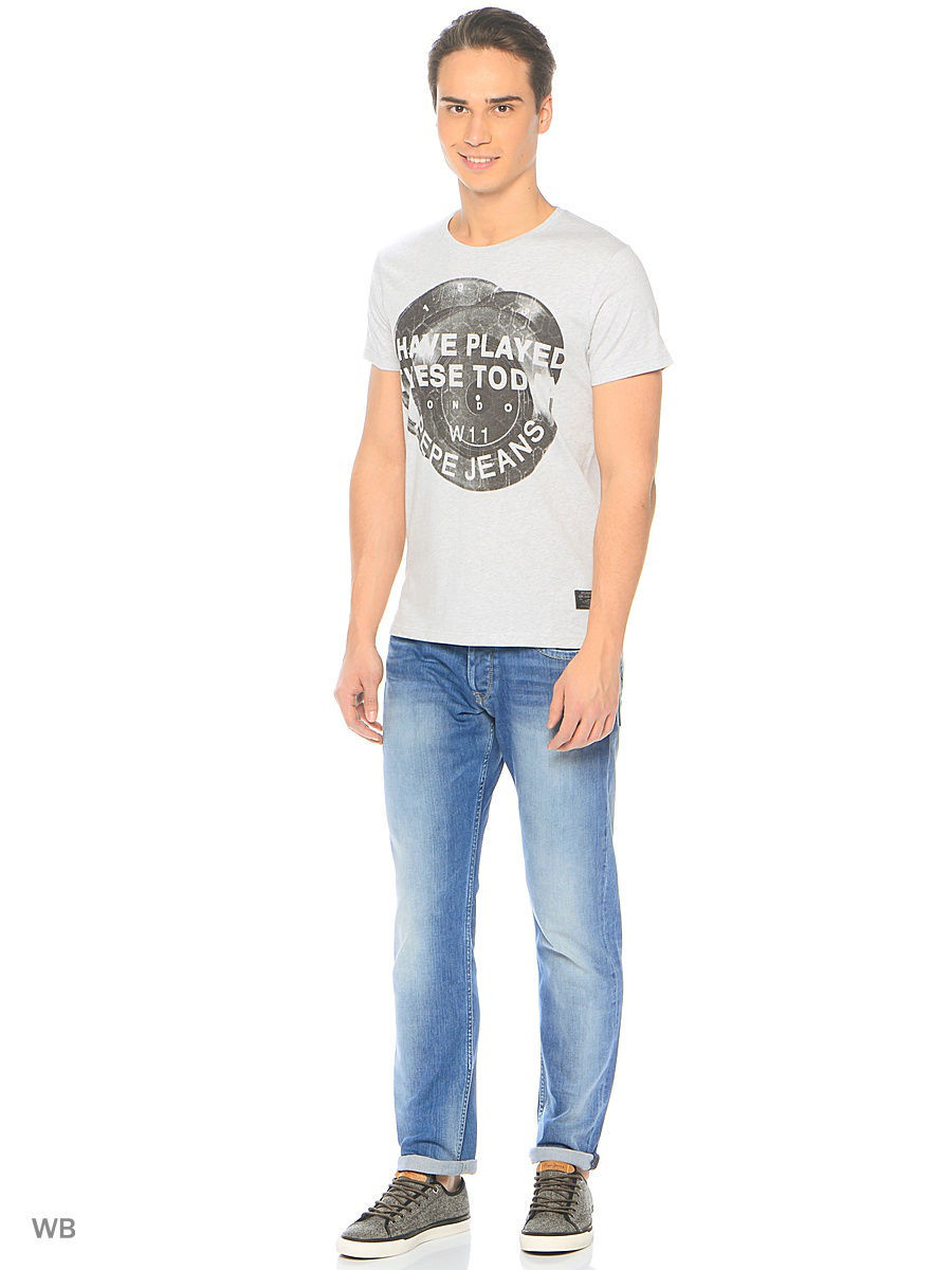 Футболка Pepe Jeans London PM503637/933GREYMARL