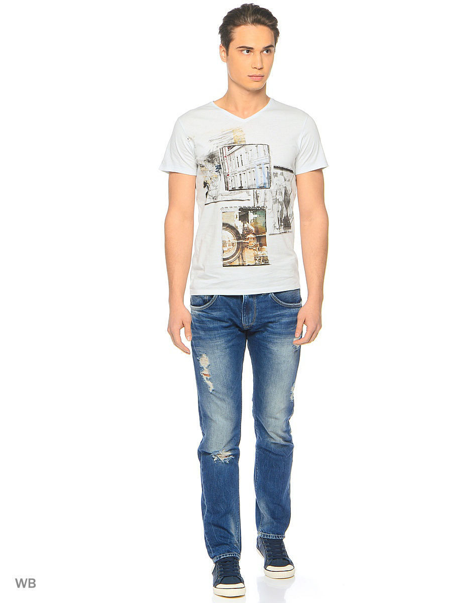 Футболка Pepe Jeans London PM503639/905LTGREY
