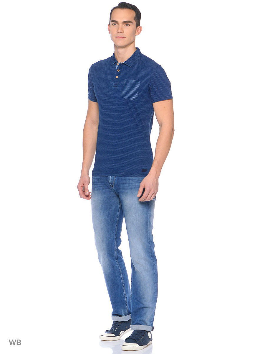 Мужские поло Pepe Jeans London PM540911/561INDIGO