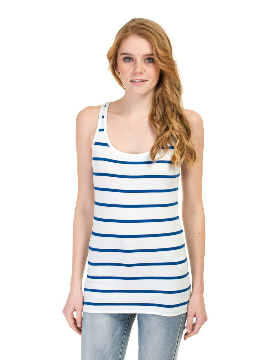 Топ Baon (Баон) B257003/MILK-DARKNAVYSTRIPED