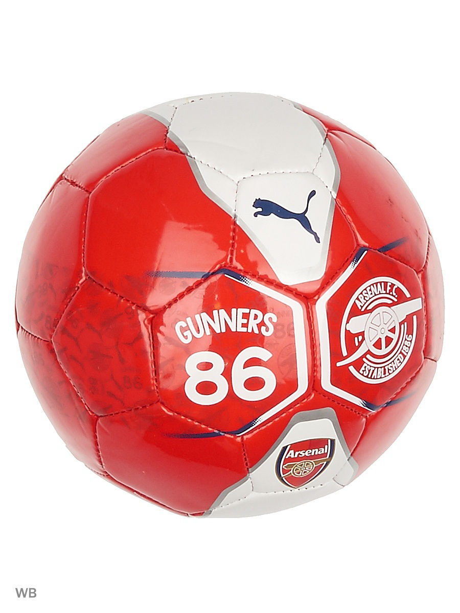 Мячи спортивные PUMA Мяч Arsenal Fan Ball Mini