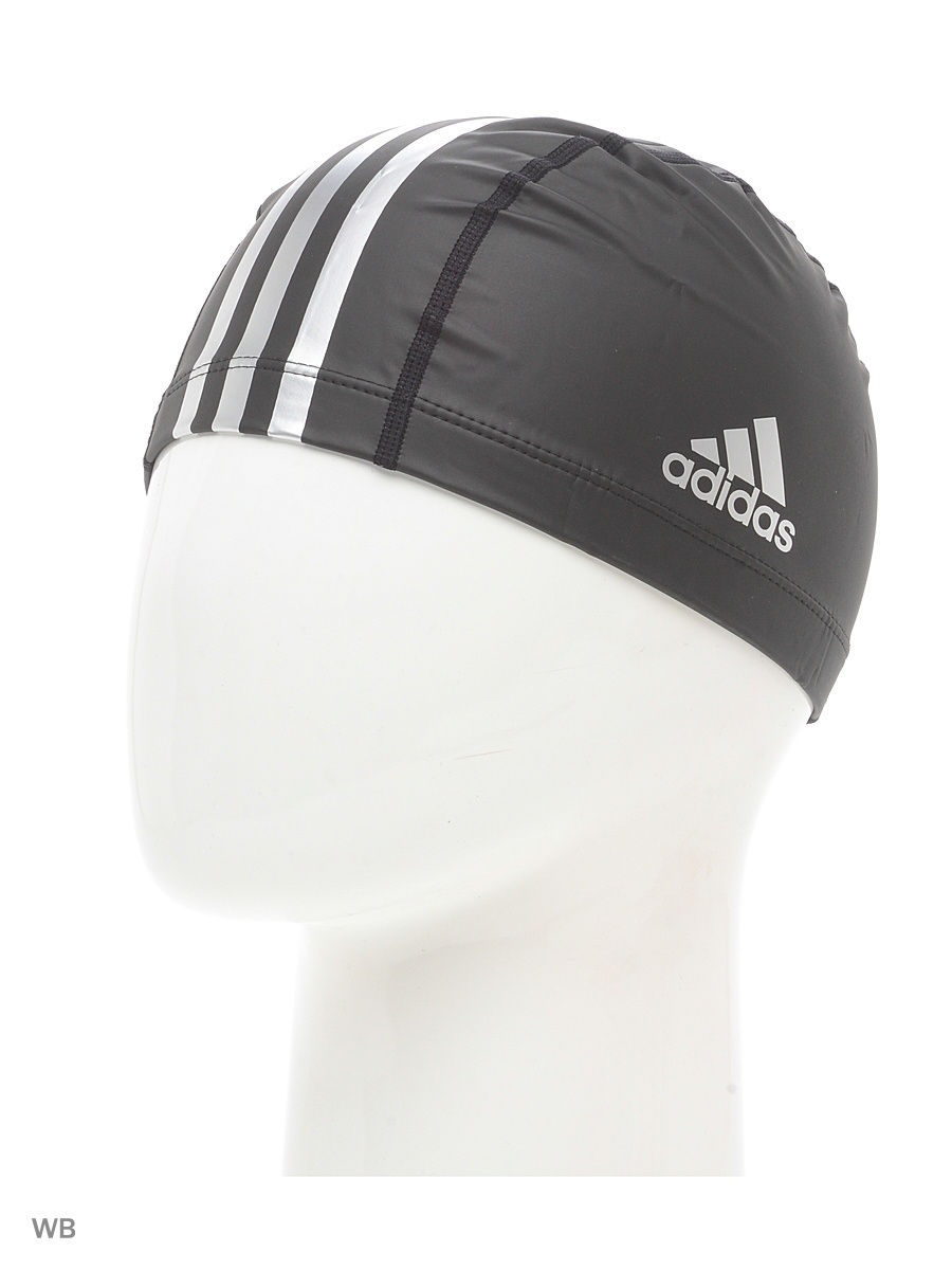 Шапочки для плавания Adidas Шапочка PU CT CP 1PC        BLACK/METSIL adidas нижневартовск