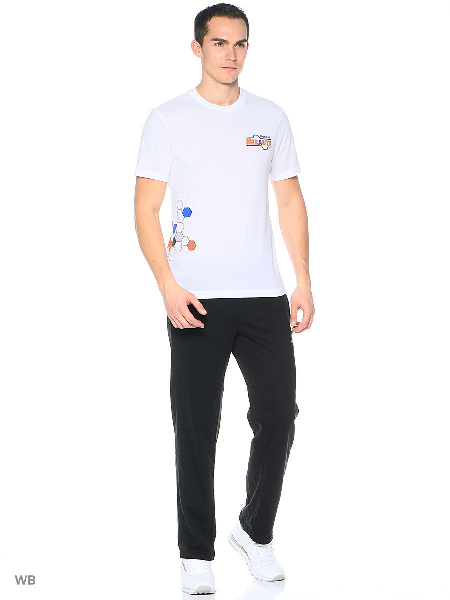 Брюки Reebok Брюки WOR COTTON OH PANT BLACK брюки puma брюки ftbltrg pant
