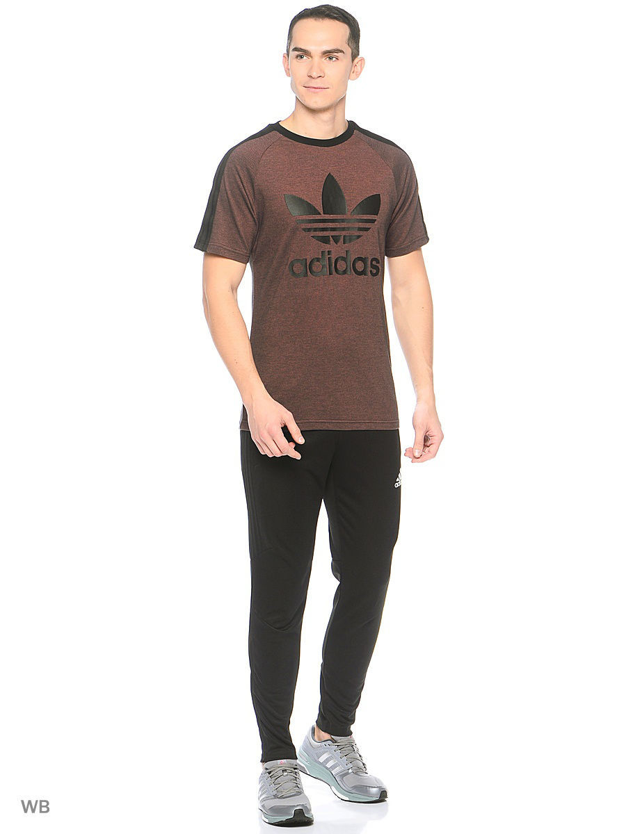 Футболка Adidas Футболка BERLIN SS FT        BLACK