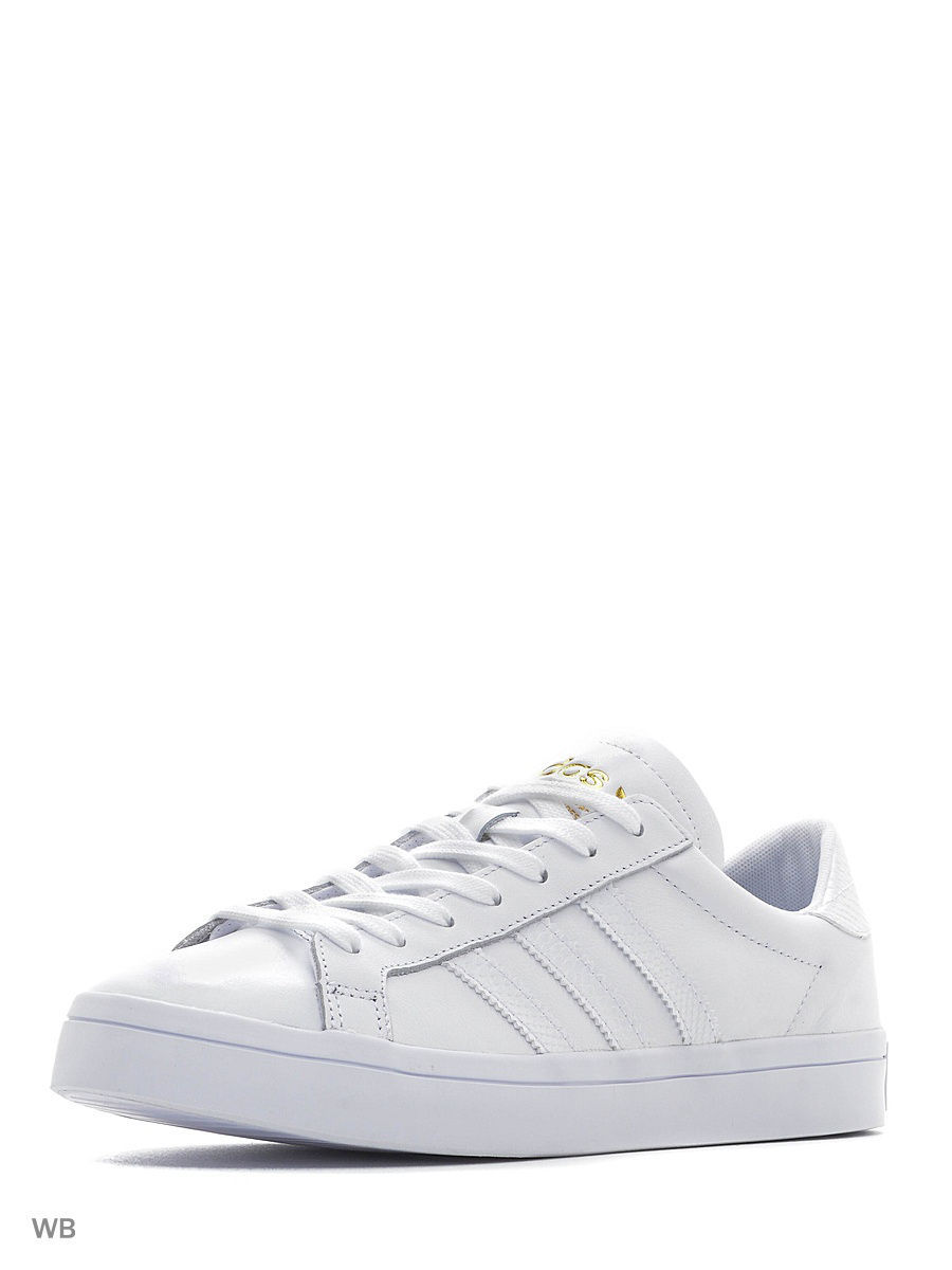 Кеды Adidas Кеды COURTVANTAGE FTWWHT/FTWWHT/GOLDMT кеды adidas кеды tenis originals courtvantage