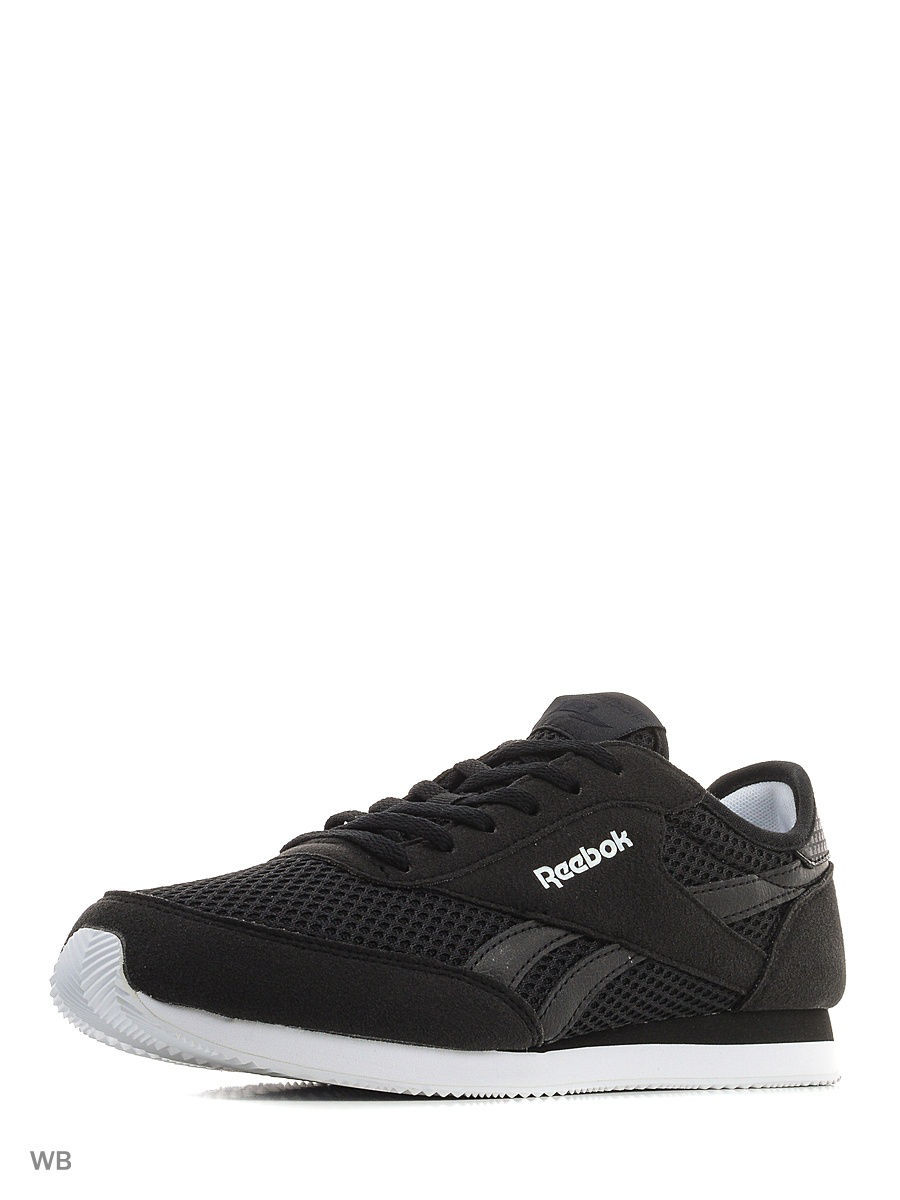 Кроссовки Reebok Кроссовки REEBOK ROYAL CL JOG BLACK/WHITE reebok оригинал