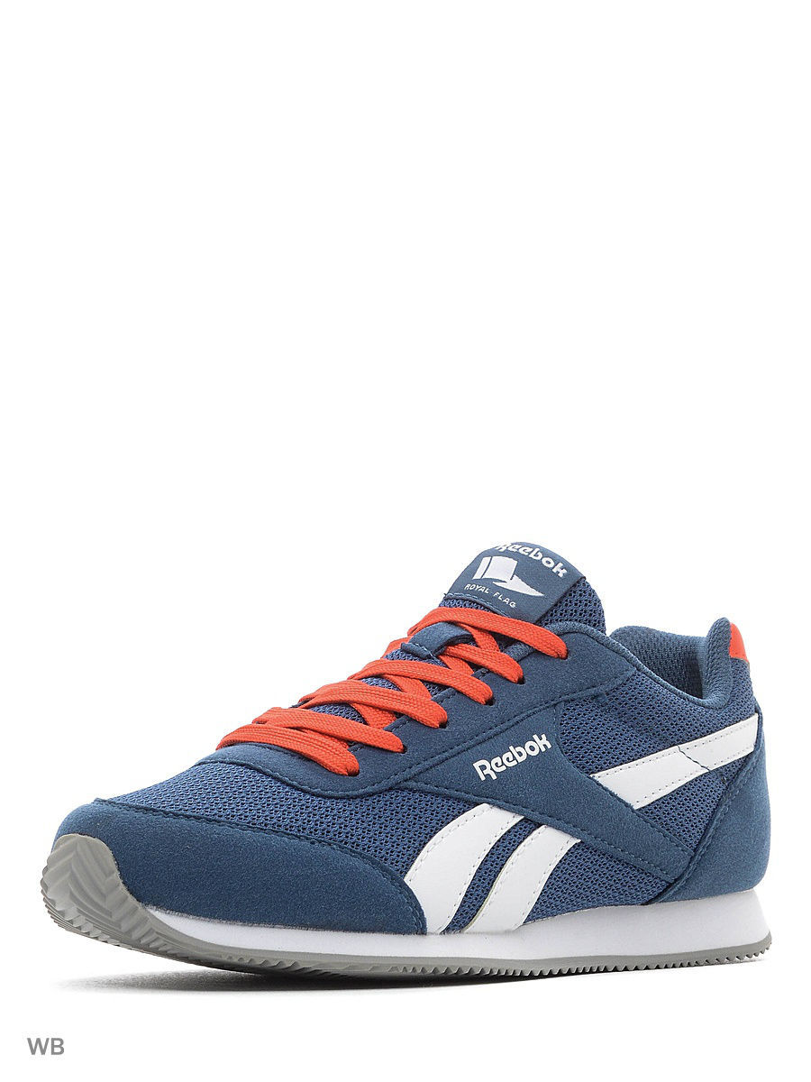 Кроссовки REEBOK ROYAL CLJOG BLUE/CAROTENE/WHITE BD5176