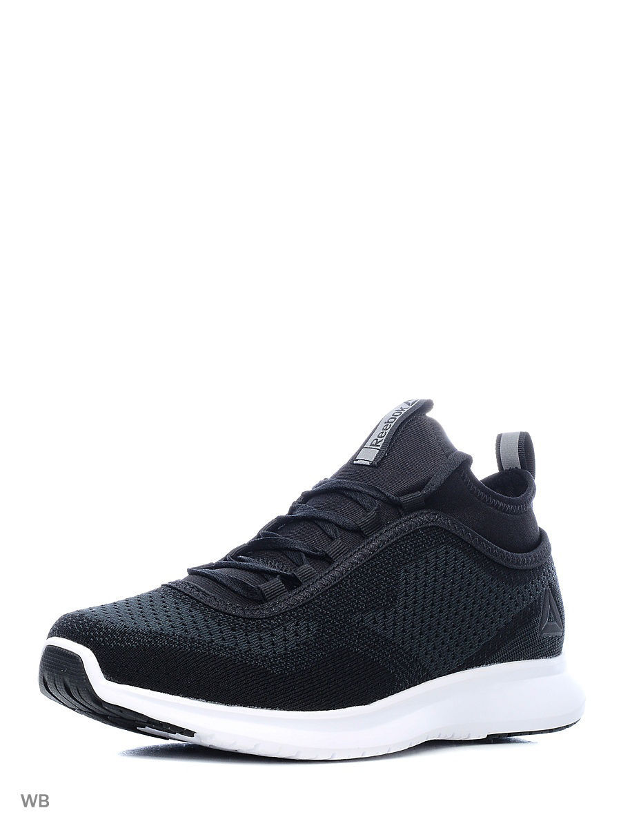 Кроссовки Reebok Кроссовки REEBOK PLUS RUNNER  BLACK/WHITE reebok re160ewvsz80 reebok