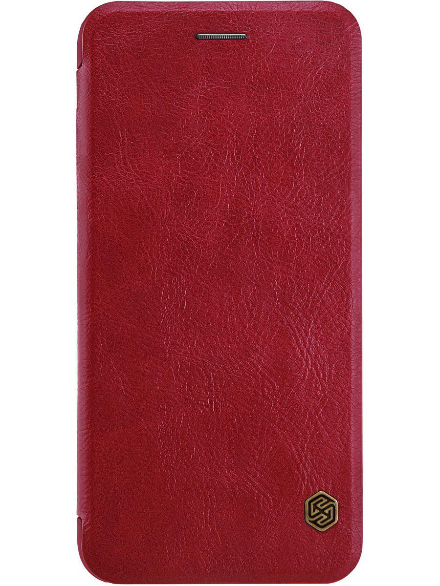 Чехлы для телефонов Nillkin Чехол Nillkin Qin leather case для Apple iPhone 7 Plus кастрюля rondell rda 078 с кр 24см 5 1л delice