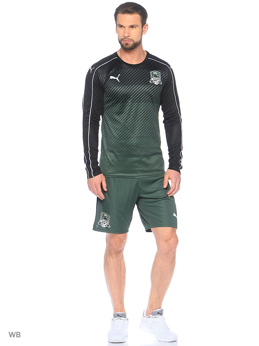 Лонгслив PUMA Лонгслив Krasnodar Home Away LS Shirt кателль франс