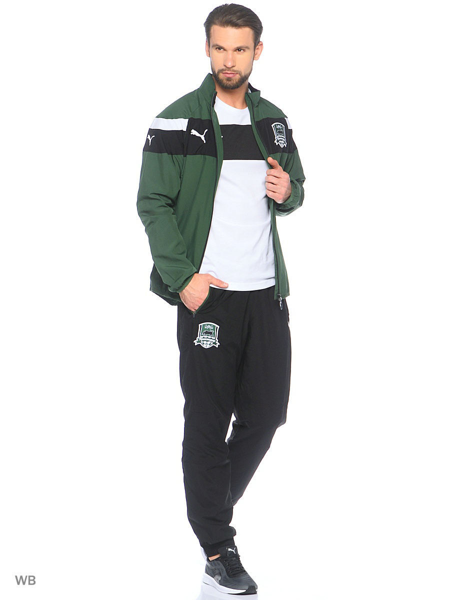 Толстовки PUMA Толстовка FK Krasnodar Leisure Jacket брюки puma брюки fk krasnodar leisure pant