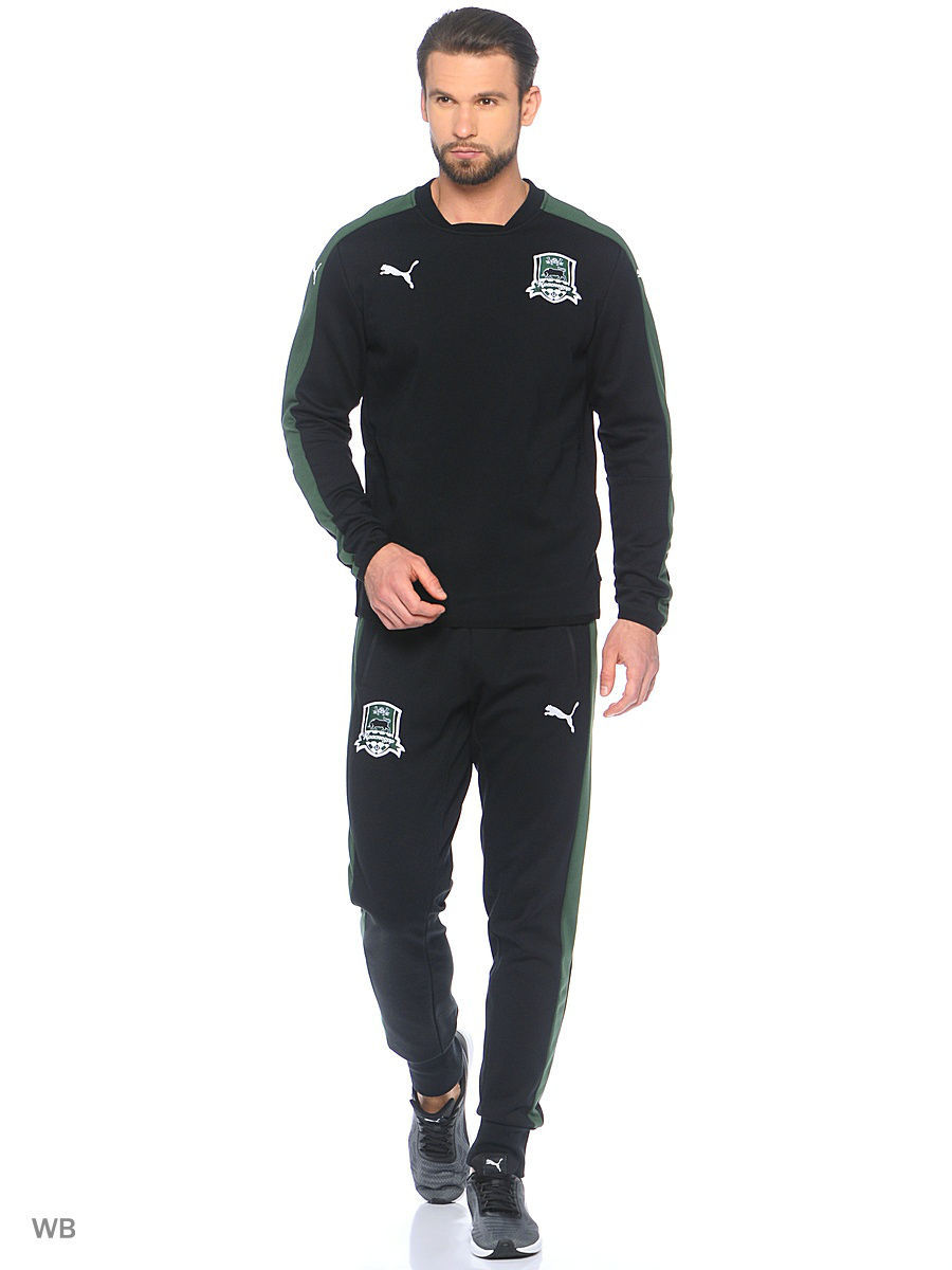 Брюки PUMA Брюки FK Krasnodar Sweat Pants брюки puma брюки fk krasnodar leisure pant
