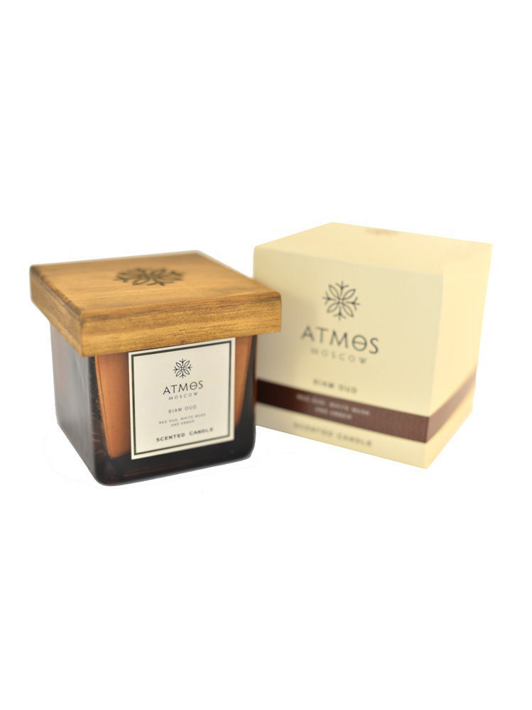 """Ароматическая свеча """"Сиамский Уд"""" / Scented candle """"Siam Oud"""" ATMOS Moscow can-03-siam-oud"""