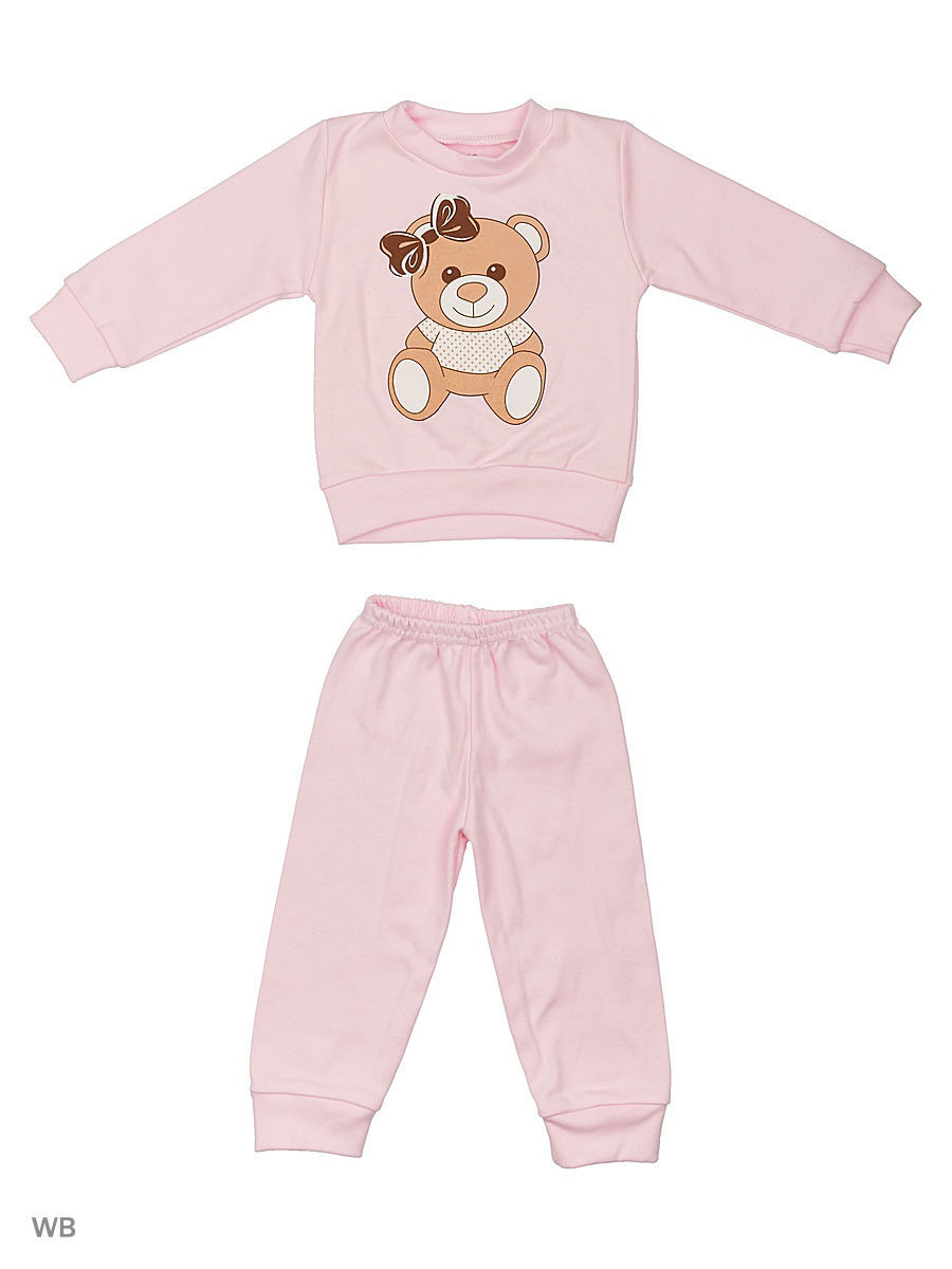 Пижама Babycollection 2LT-58723/d/розовый