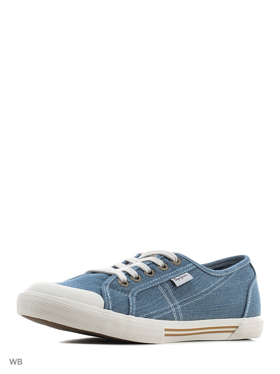 Женские кеды Pepe Jeans London PLS30479/520azzurro