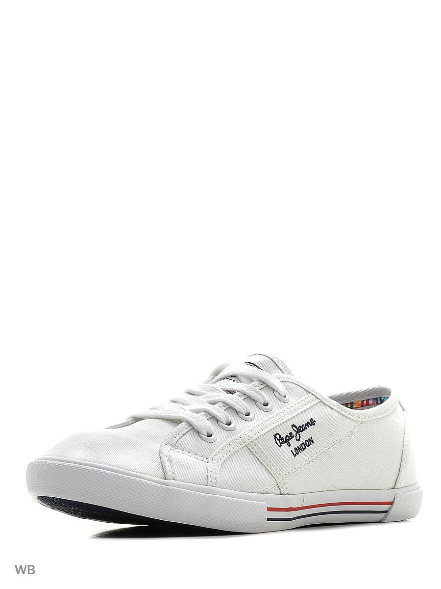 Женские кеды Pepe Jeans London PLS30500/800white