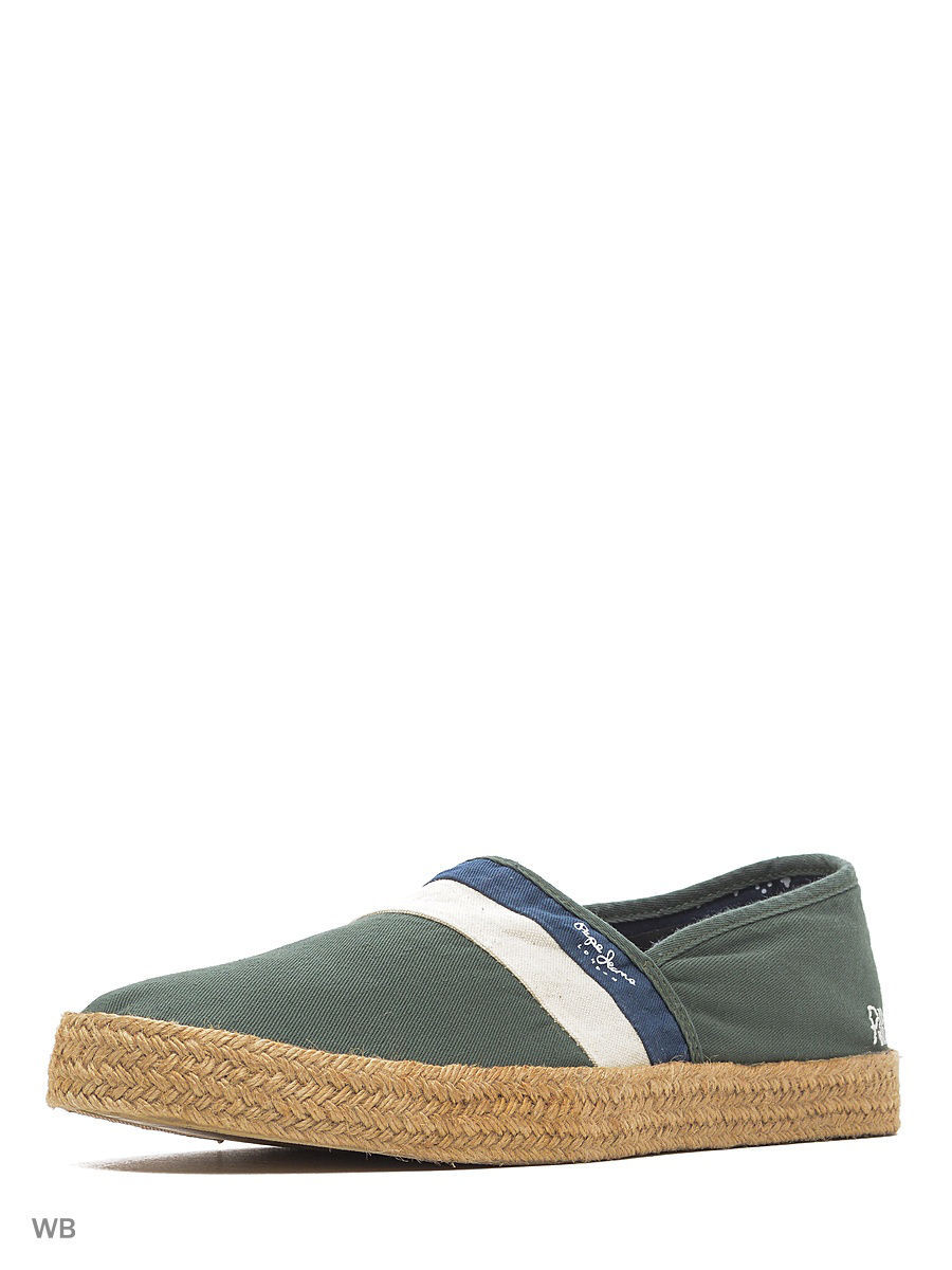 Мужские мокасины Pepe Jeans London PMS10190/765khakigreen