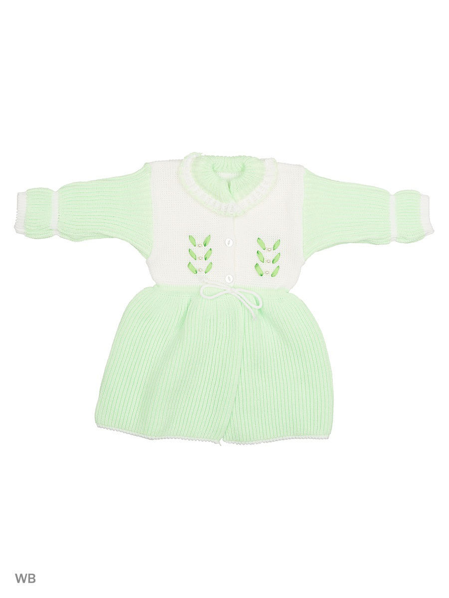 Платье Babycollection 9CR-317/d/салатовый