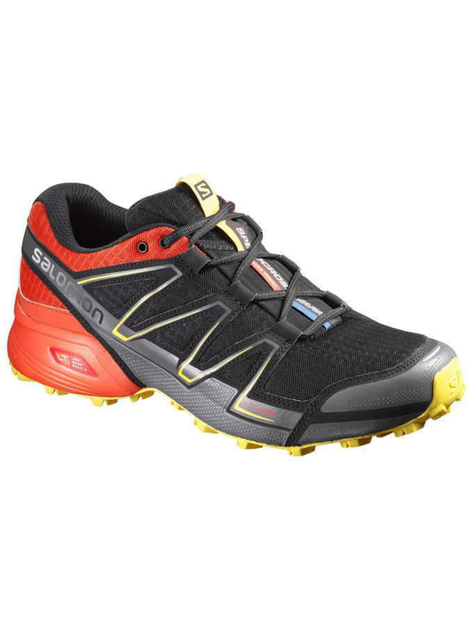 Кроссовки SHOES SPEEDCROSS VARIO BLACK/RD/YE SALOMON L38314200
