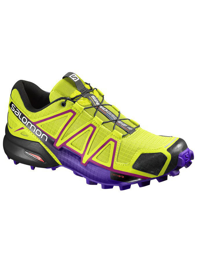 Кроссовки SALOMON Кроссовки SHOES SPEEDCROSS 4 W GECKO GREEN/BL/BK кроссовки salomon кроссовки shoes xa lite bk quiet shad imperial b