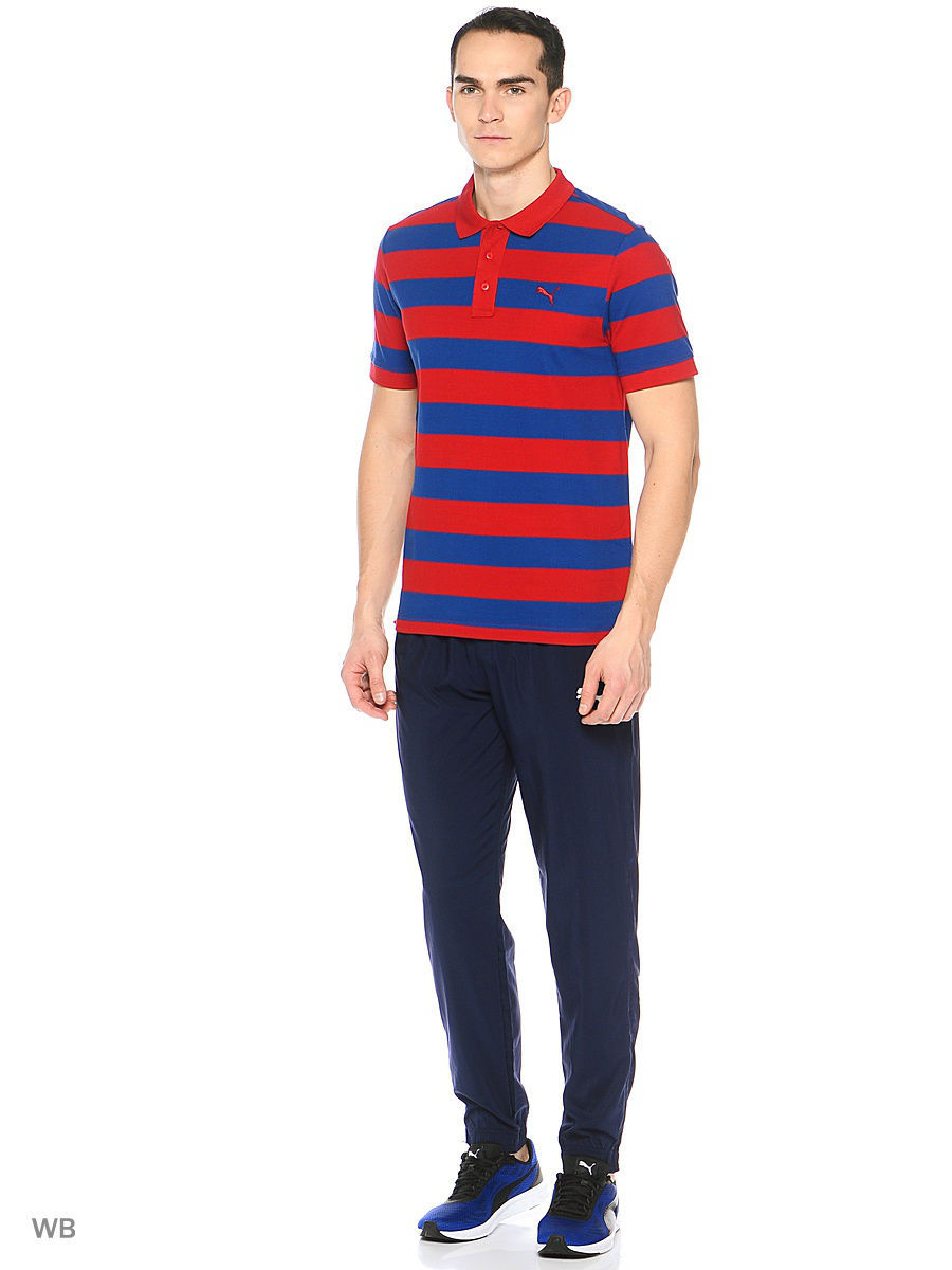 Футболка-поло ESS Striped Pique Polo Puma 83824924