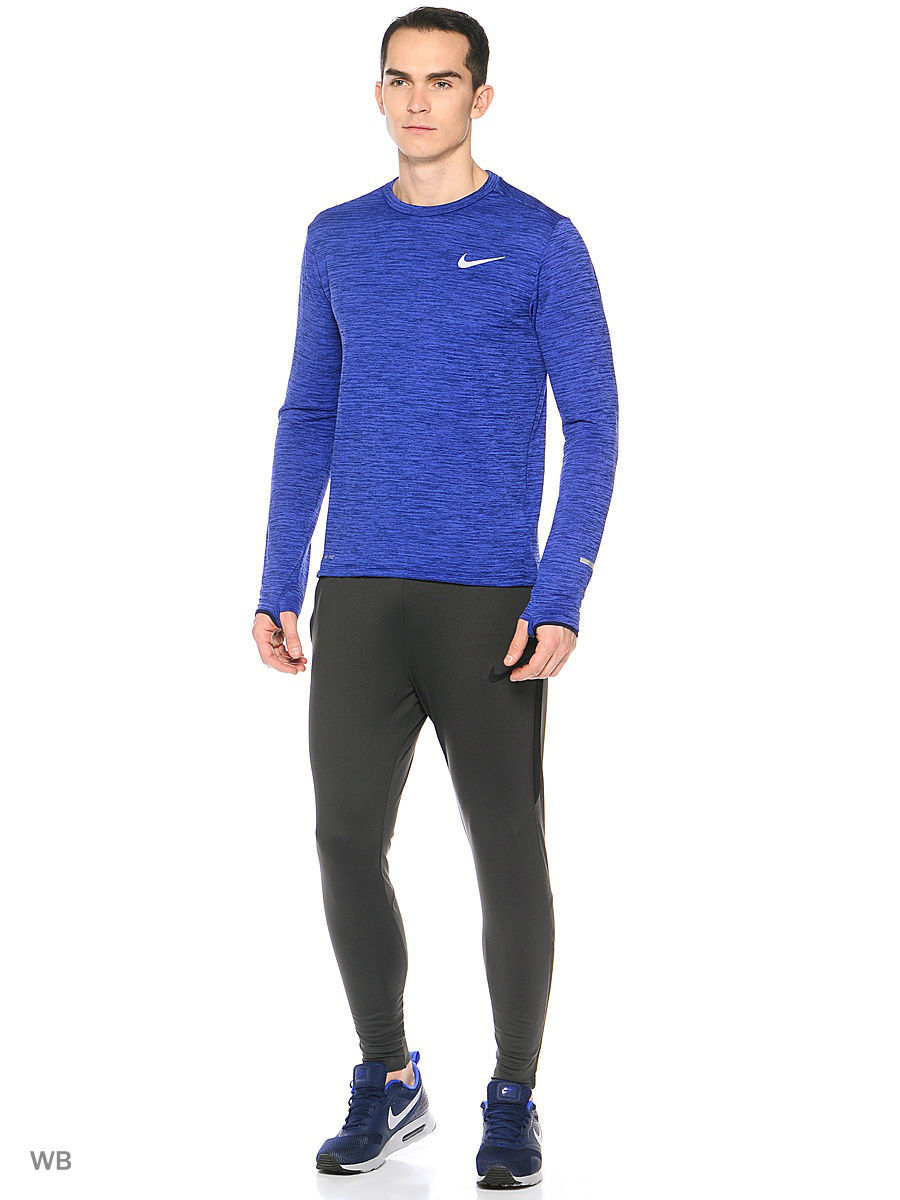 Лонгслив Nike Лонгслив M NK THRMA SPHR ELMNT TOP LS nike лонгслив element 1 2 zip ls top yth