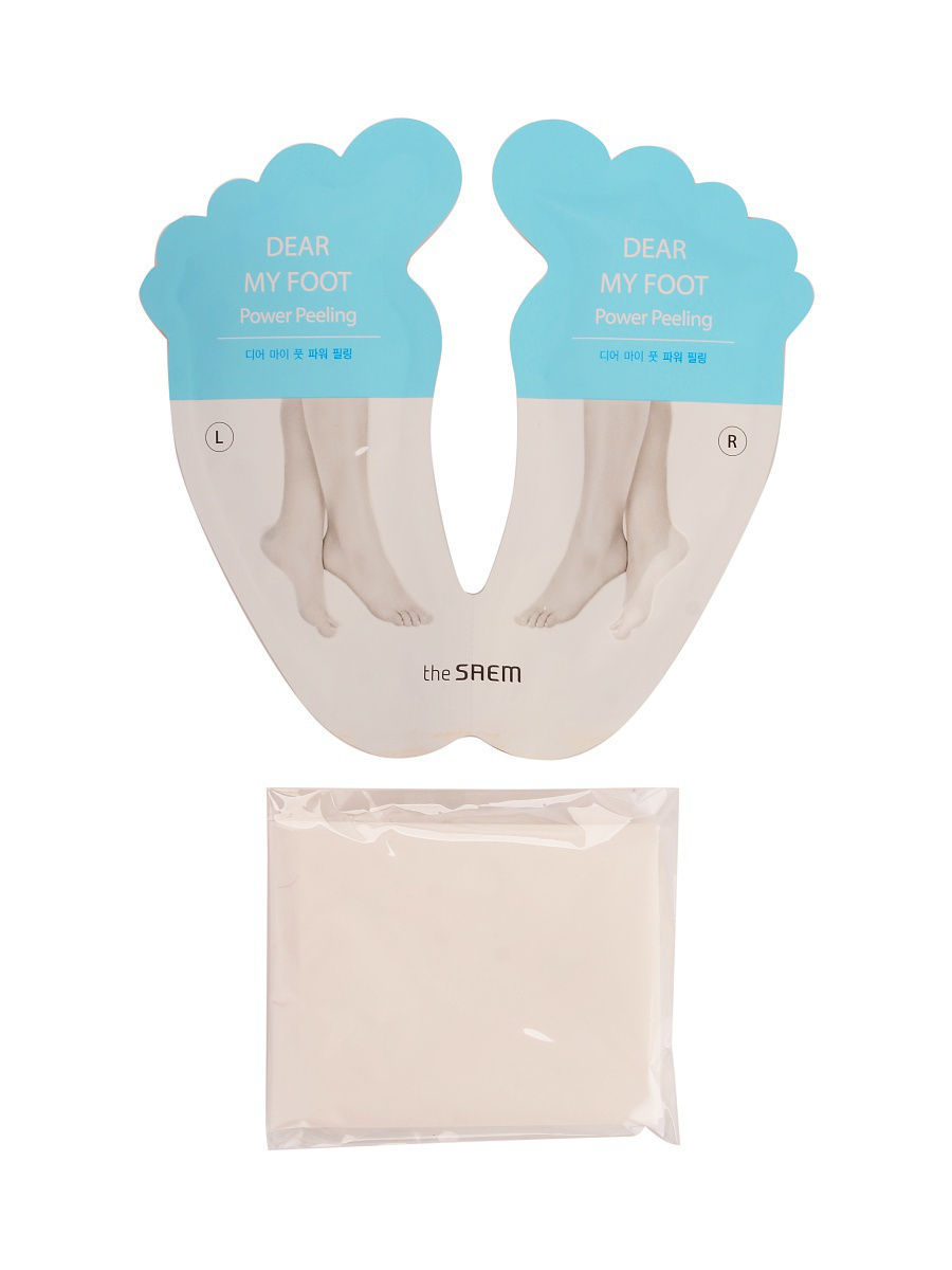 Пилинг the SAEM Foot Пилинг для ног Dear My Foot Power Peeling косметические маски the face shop пилинг для ног smile foot 20мл