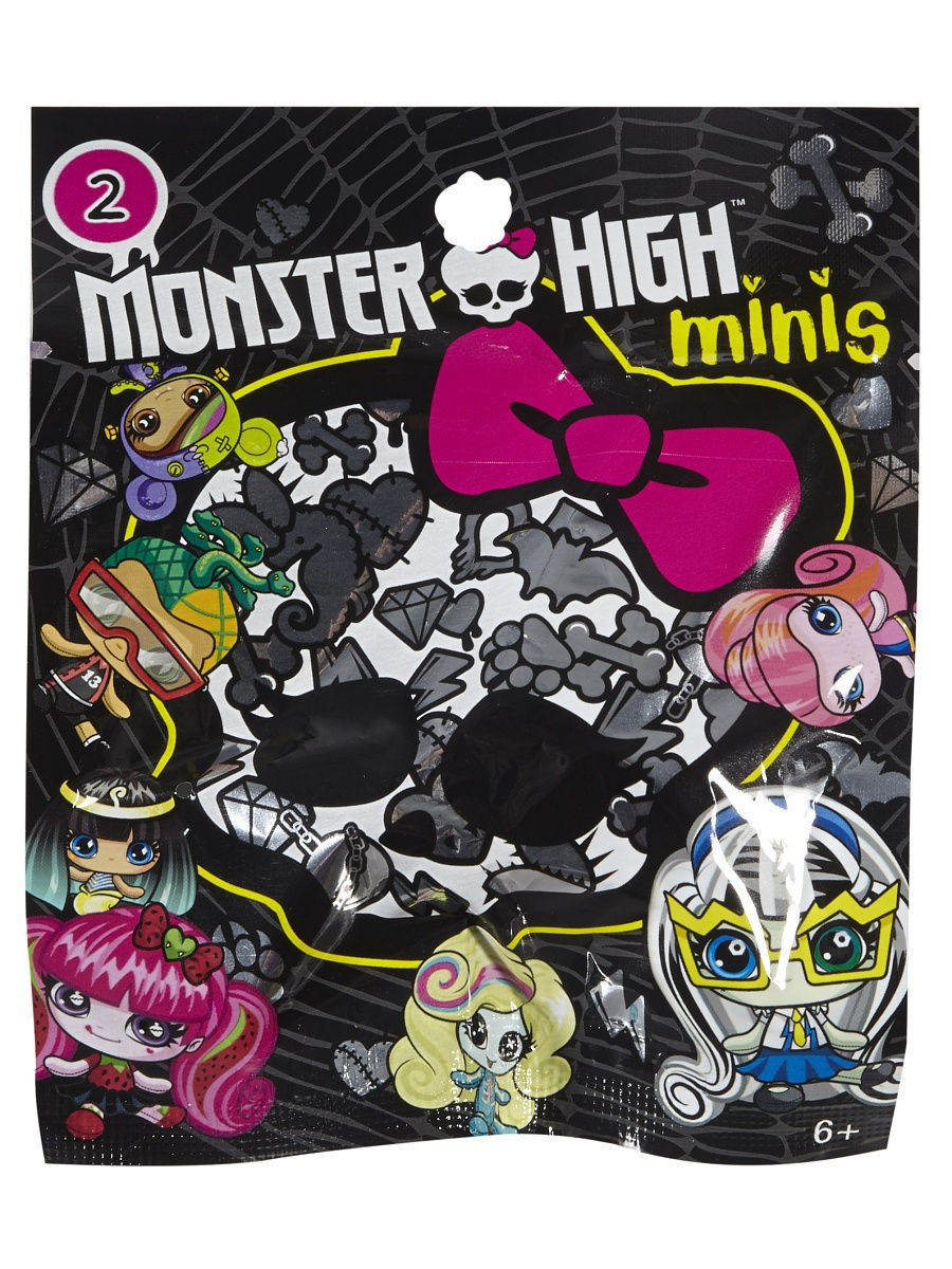 Фигурки-игрушки Monster High Мини-фигурка monster high фигурка monster minis 1шт